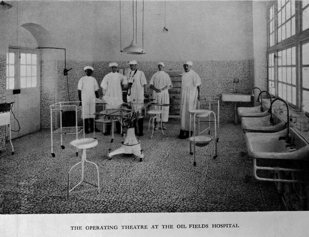 بیمارستانهای شرکت نفت در مناطق نفت خیز جنوب در یک قرن پیش