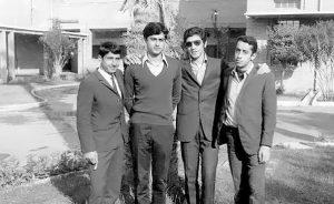 شهید محمد جواد تندگویان در دوران جوانی
