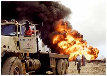 نگاهی به مهار و کنترل فوران چاه های نفت و گاز توسط متخصصان نفت ایران