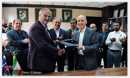 قرارداد همکاری میان شرکت ملی حفاری ایران و شرکت انگلیسی ADS