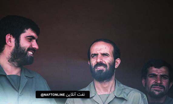 تصویر منتشر نشده از بیژن نامدار زنگنه وزیر نفت جمهوری اسلامی در دهه ۶۰