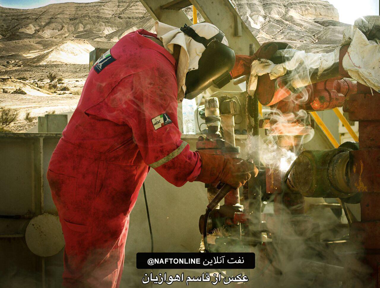 فیلمی از سختی کار حفارمردان صنعت نفت