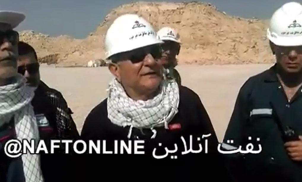 فیلم / آخرین وضعیت مهار چاه شماره 147 رگ سفید از زبان عالیپور