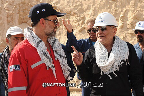فیلم/قهرمانان مهار چاه شماره ١۴٧ رگ سفید در رسانه ملی