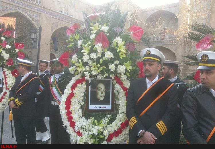 مراسم بزرگداشت شهدای نفتکش سانچی در مدرسه عالی شهید مطهری + تصاویر