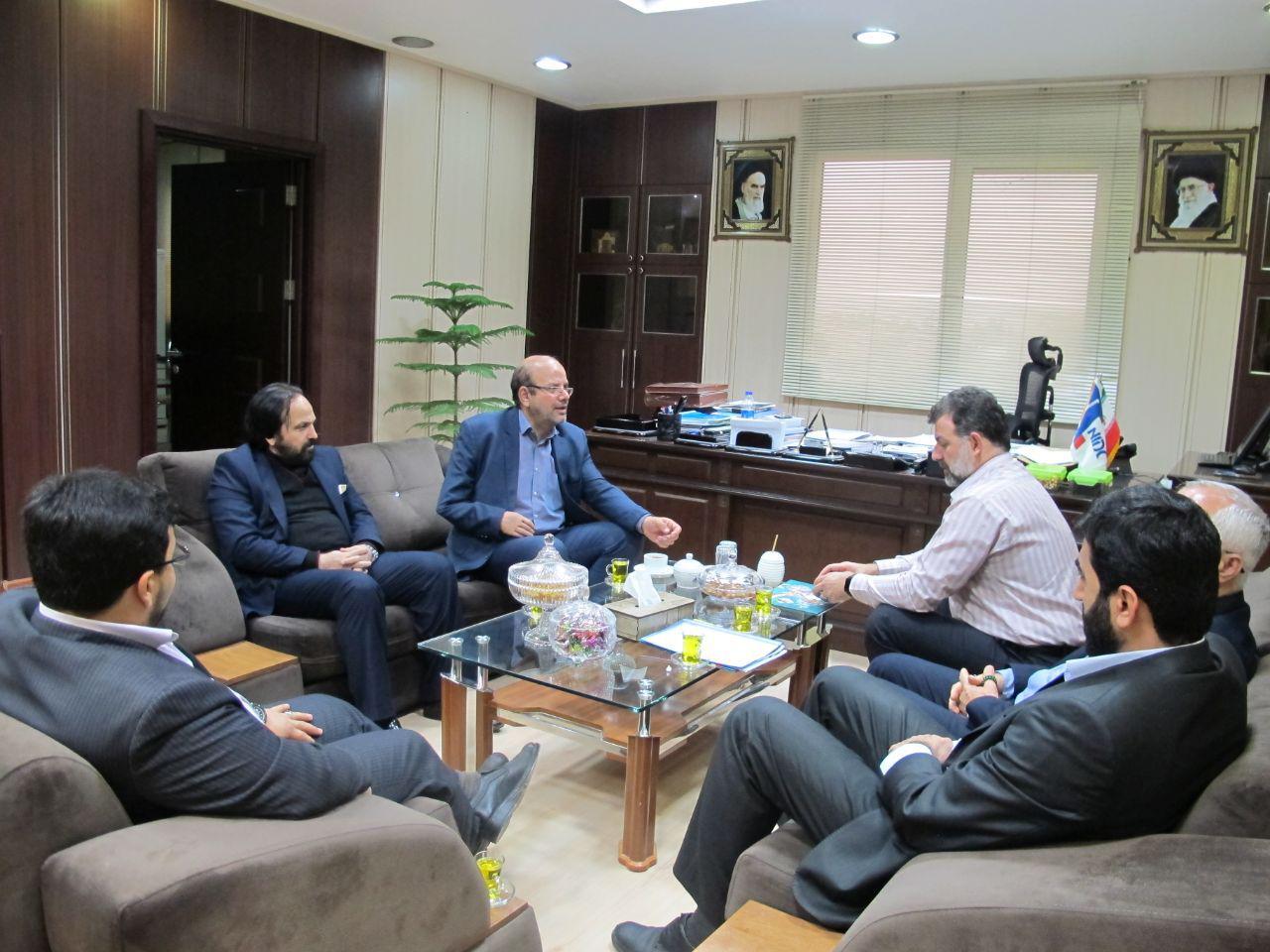 فرمانده مرکز بسیج وزارت نفت با مدیرعامل ملی حفاری دیدار کرد+تصاویر