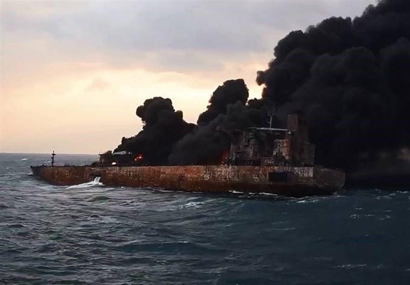آلودگی های نفتی پرده جدیدی از حادثه سانچی