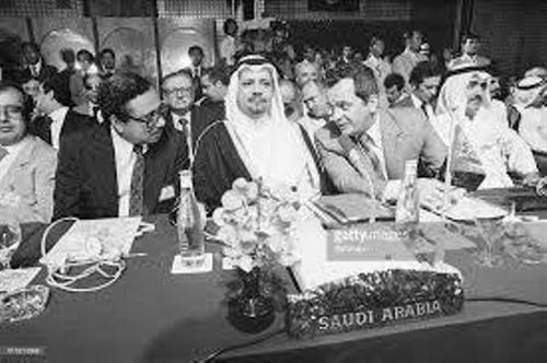 احمد زكي يماني در اجلاس اوپك