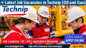 فرصت های شغلی اعلام شده توسط شرکت Technip/مردادماه۹۷