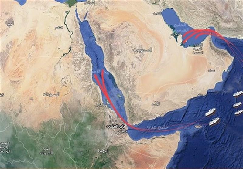 عربستان ارسال نفت از تنگه باب المندب را ازسر گرفت