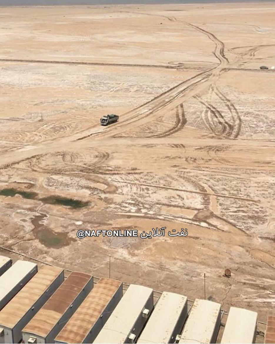 تصویر هورالعظیم خشک از مانکی برد دکل ۲۸ فتح