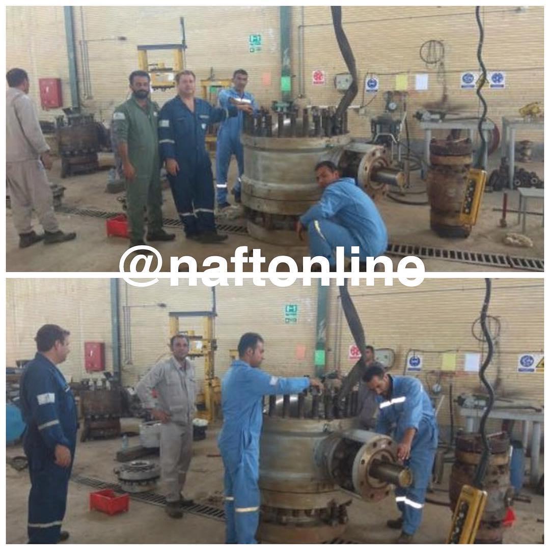 عکس/منطقه عملیاتی پارسیان شرکت نفت زاگرس جنوبی