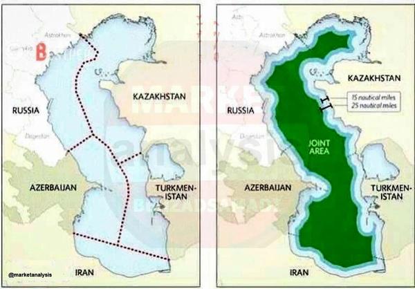 سهم نفت و گاز ایران در خزر هنوز مبهم است!