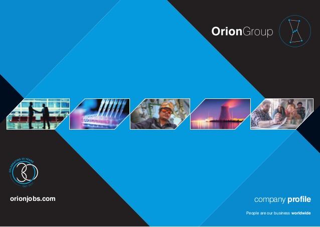 آگهی استخدام شرکت Oriongroup در خاورمیانه/شهریورماه ۹۷
