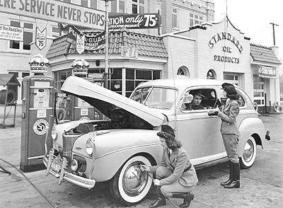 ۱۴ شهریور ۱۲۶۴ نخستین پمپ بنزین جهان در ایندیانای آمریکا نصب شد