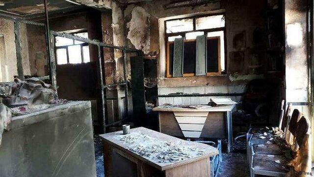شرکت گاز در آتش سوزی واحد آموزشی زاهدان چقدر مقصر است؟
