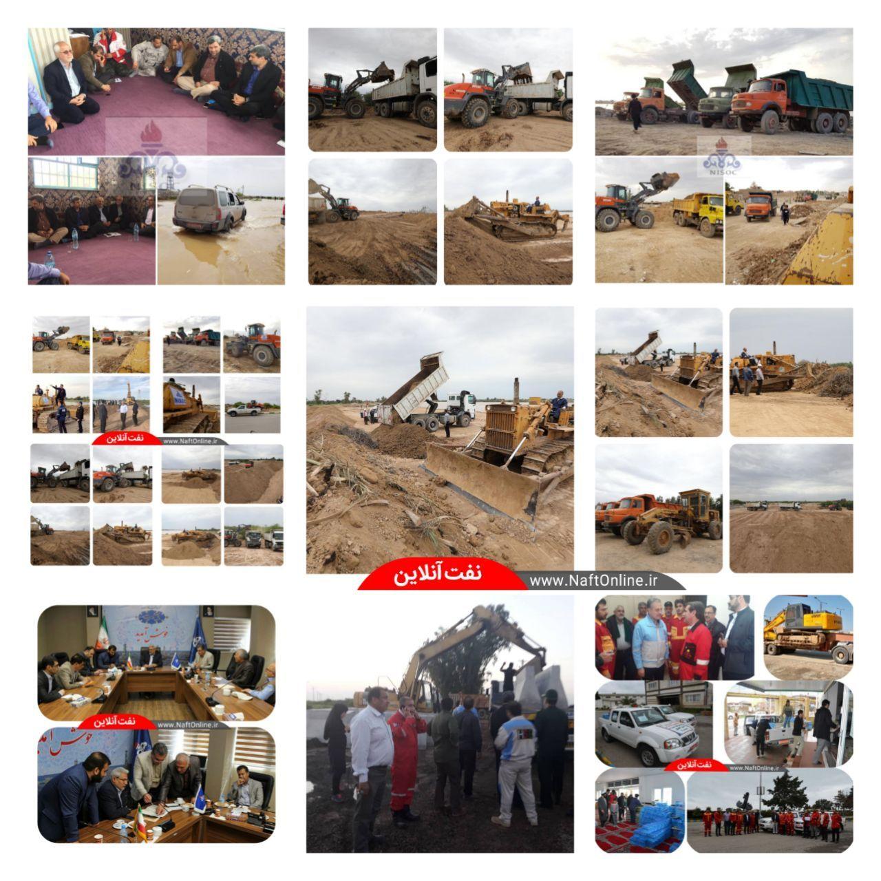 آخرین اخبار از کمکهای نفتیها به سیل زدگان سراسر کشور