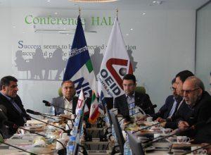 امضاء تفاهم نامه همکاری شرکت ملی حفاری ایران با شرکت توسعه صنایع نفت و انرژی