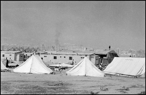 موارت- کمپ کارکنان در آغاجاری